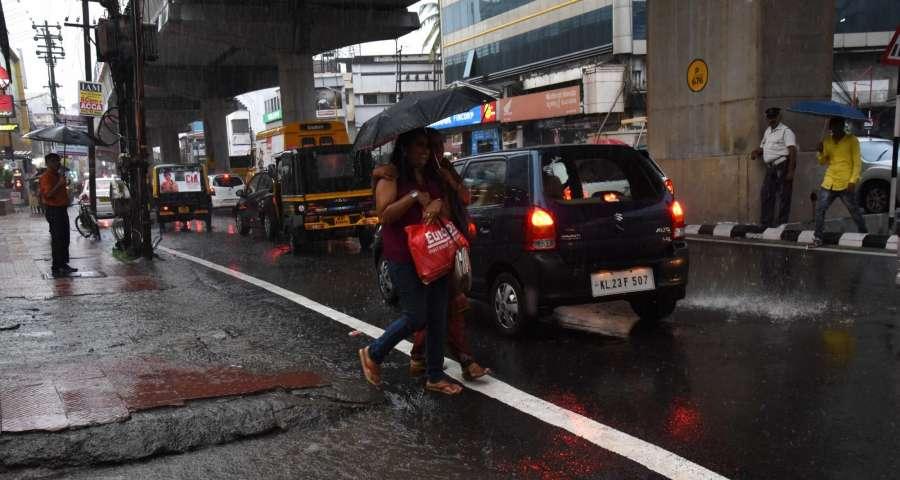 Kochi: Monsoon rains in Kochi, Kerala on May 31, 2017. (Photo: IANS) by .