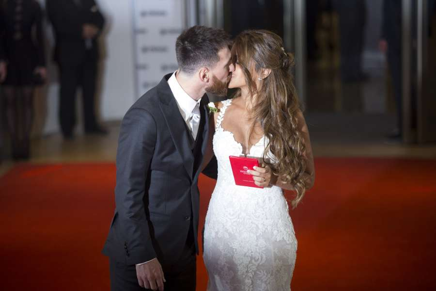 (SP)ARGENTINA-ROSARIO-SOCCER-MESSI-WEDDING by .