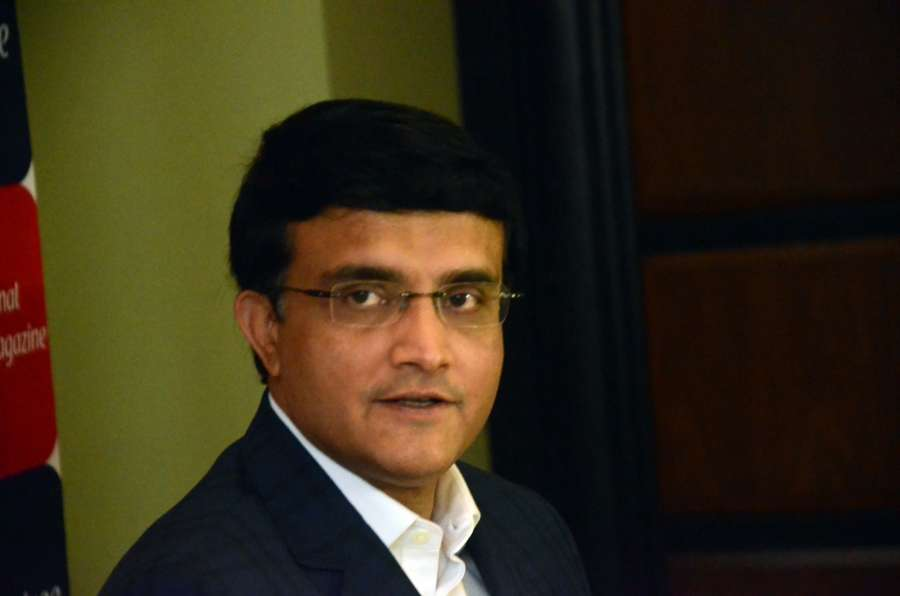 Mumbai: Former cricketer Sourav Ganguly during a programme organsied to launch video streaming platform Flickstree in Mumbai, on July 11, 2017. (Photo: IANS) by .