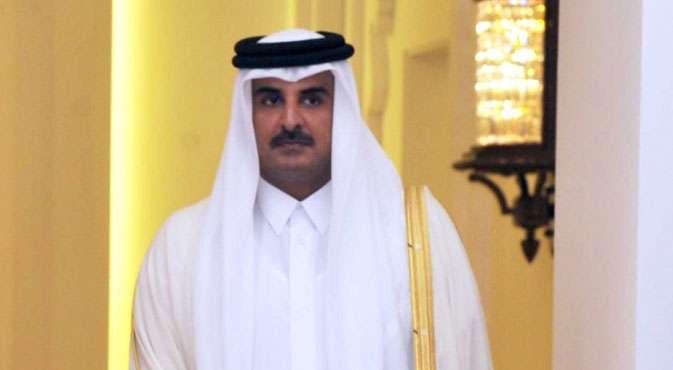Emir of Qatar Sheikh Tamim Bin Hamad Al Thani. (File Photo: IANS) by .