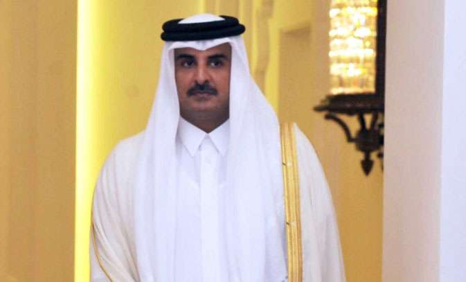 Emir of Qatar Sheikh Tamim Bin Hamad Al Thani. (File Photo: IANS) by .