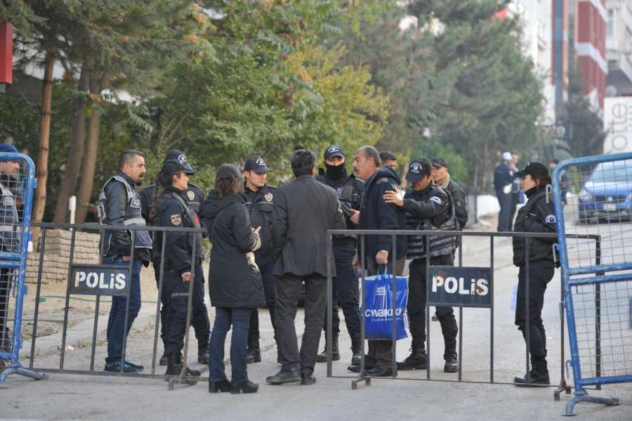 TURKEY-ANKARA-HDP-DETENTION by .