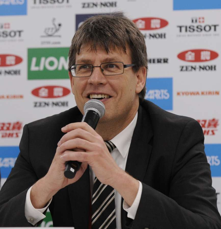 Thomas Weikert ITTF President.(File Photo: IANS) by .