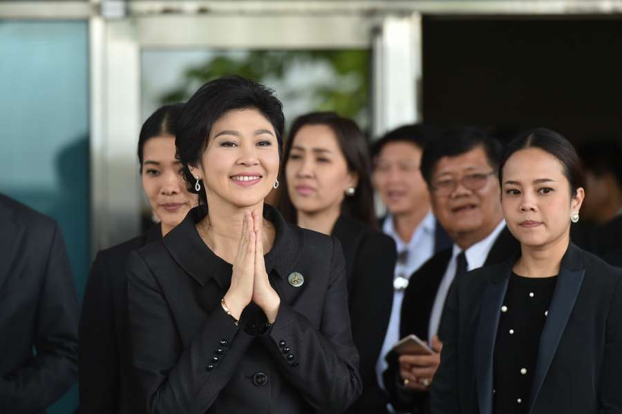 THAILAND-BANGKOK-YINGLUCK-RICE PROGRAM by .