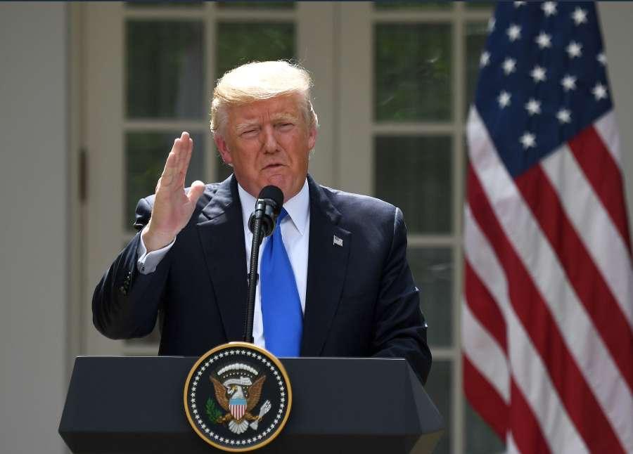 U.S.-WASHINGTON D.C.-TRUMP-SYRIA-ASSAD by .