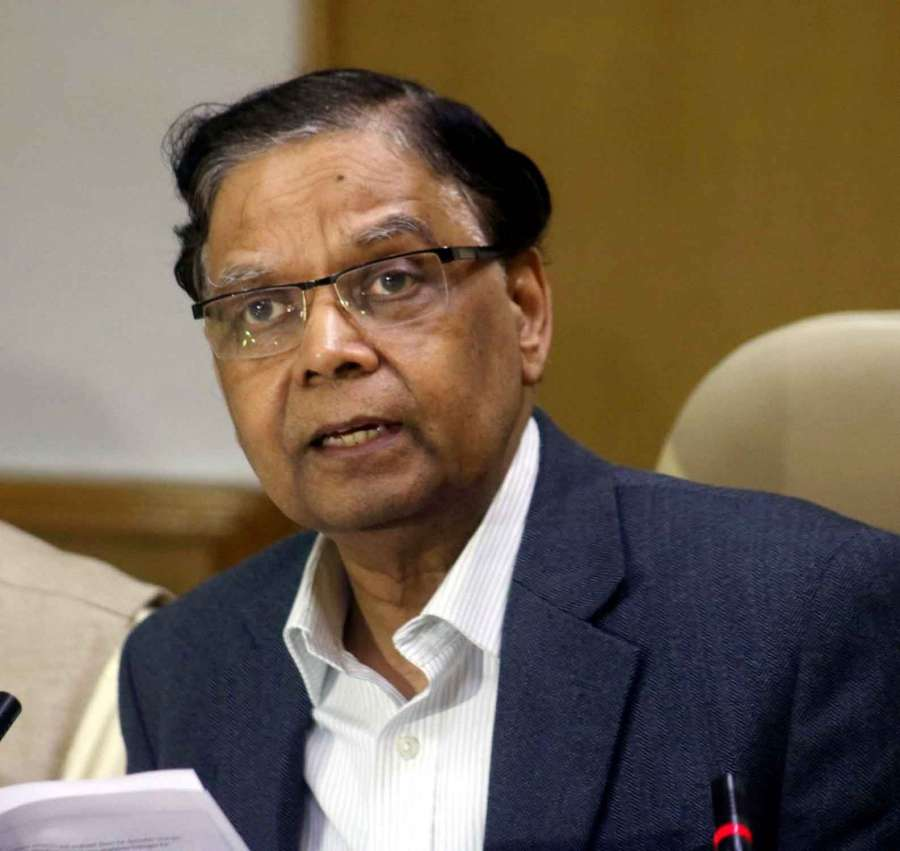 NITI Aayog Vice-Chairman Arvind Panagariya. (File Photo: IANS) by .