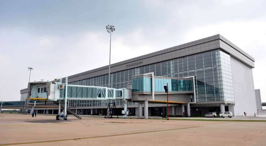 Chandigarh Airport. (File Photo: IANS) by .