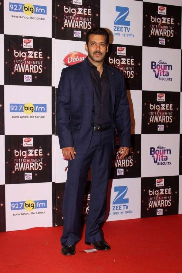 Mumbai: Actor Salman Khan during the Big Zee Entertainment Awards 2017 in Mumbai, on July 29, 2017. (Photo: IANS) by .