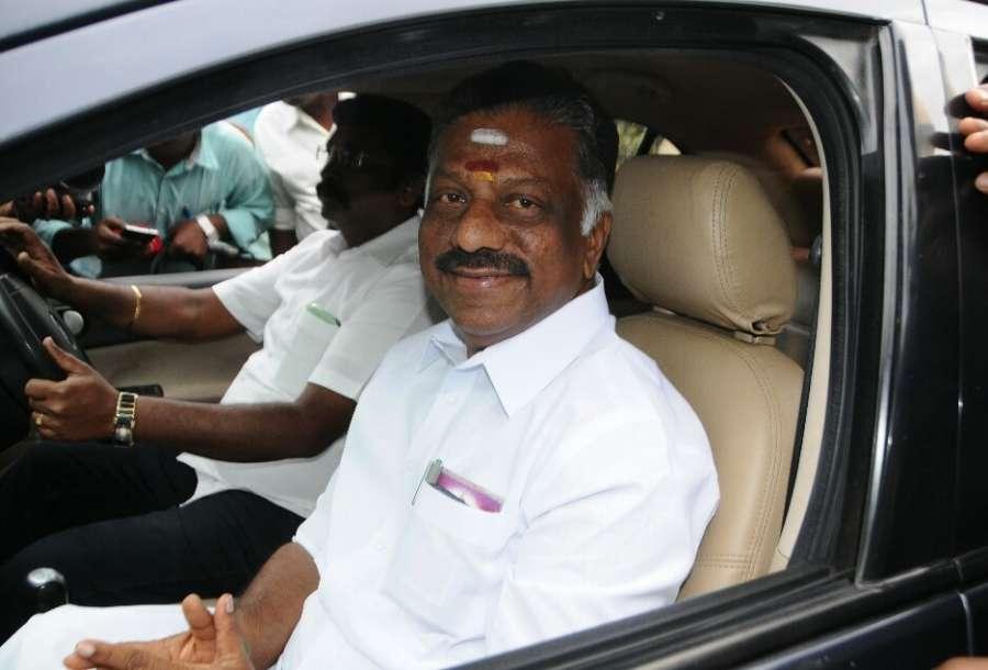 Chennai: AIADMK leader O. Panneerselvam in Chennai on Aug. 18, 2017. (Photo: IANS) by .