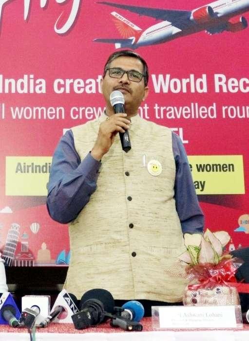 Air India's Chairman and Managing Director Ashwani Lohani. (File Photo: IANS) by .