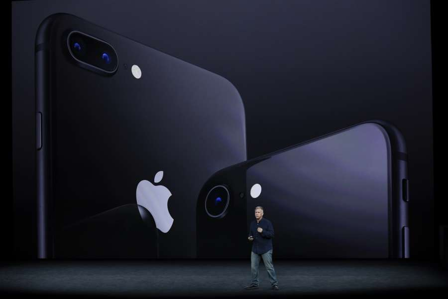CUPERTINO (U.S.), Sept. 12, 2017 (Xinhua) -- Security personnel are seen inside Apple Park as a special event is CUPERTINO (U.S.), Sept. 12, 2017 (Xinhua) -- Phil Schiller, Apple's Senior Vice President of Worldwide Marketing, introduces new iPhone 8 and iPhone 8 Plus during a special event in Cupertino, California, the United States on Sept. 12, 2017. Apple Inc. released a series of new products and services in Cupertino on Tuesday. (Xinhua/IANS) by .