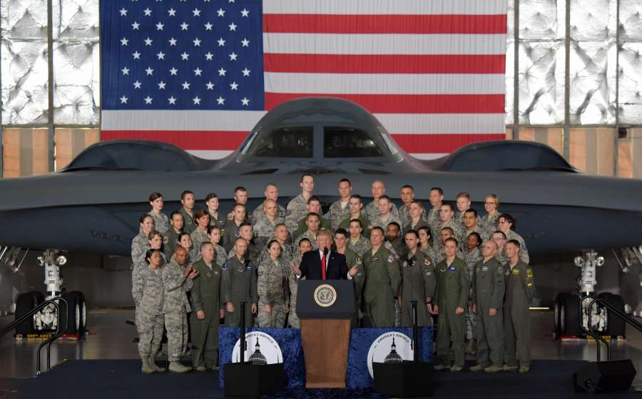 U.S.-MARYLAND-PRESIDENT-TRUMP-JOINT BASE ANDREWS-VISIT by .