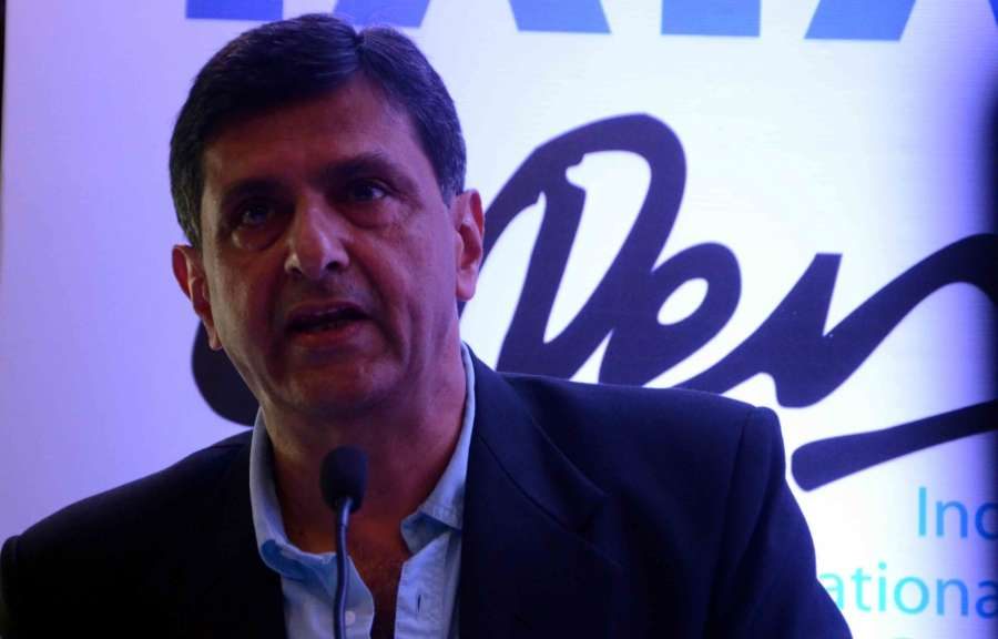 Mumbai: Former Indian badminton player Prakash Padukone during the announcement of 9th Tata Open International Badminton Challenge in Mumbai on Nov 29, 2016. (Photo: IANS) by .
