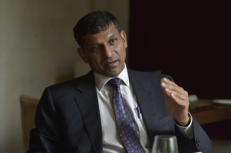 "Chennai: Former RBI Governor Raghuram Rajan during the release of his book ""I do what I do"" in Chennai on Sept 5, 2017. (Photo: IANS) by ."