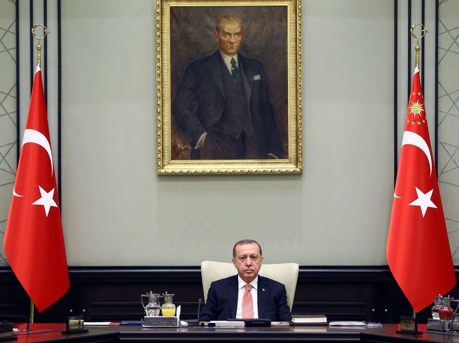 TURKEY-ANKARA-NATIONAL SECURITY COUNCIL-KRG REFRENDUM by .