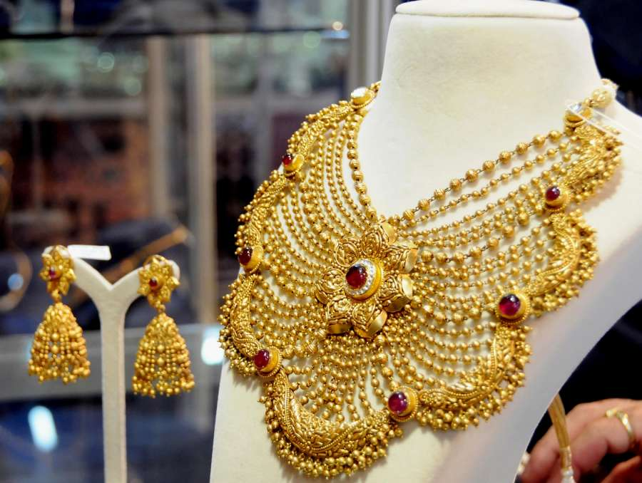 Gold ornament. (File Photo: IANS) by .