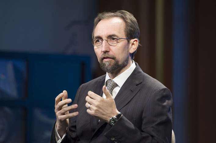 UN UN High Commissioner for Human Rights Interviewed by DPI by .