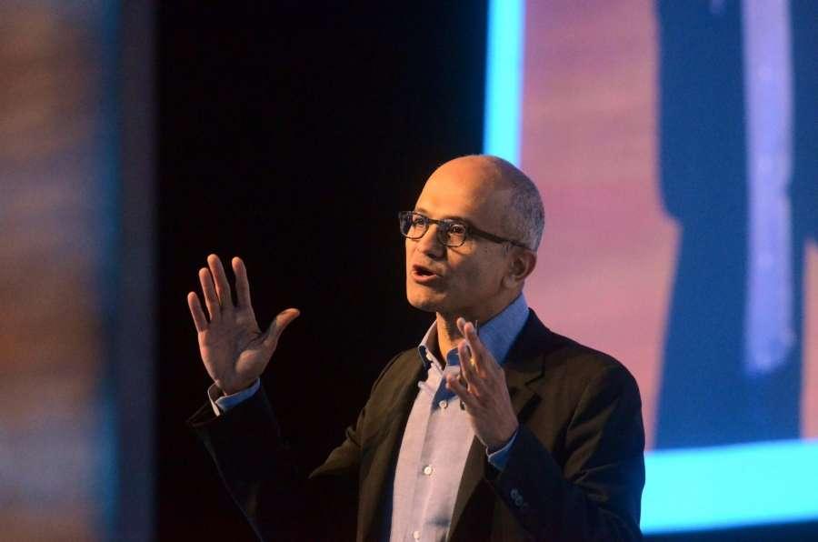 Microsoft CEO Satya Nadella. (File Photo: IANS) by .