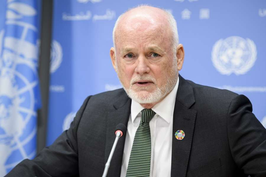 Press Conference by Mr. Peter Thomson, President of the 71st session of the General Assembly by .