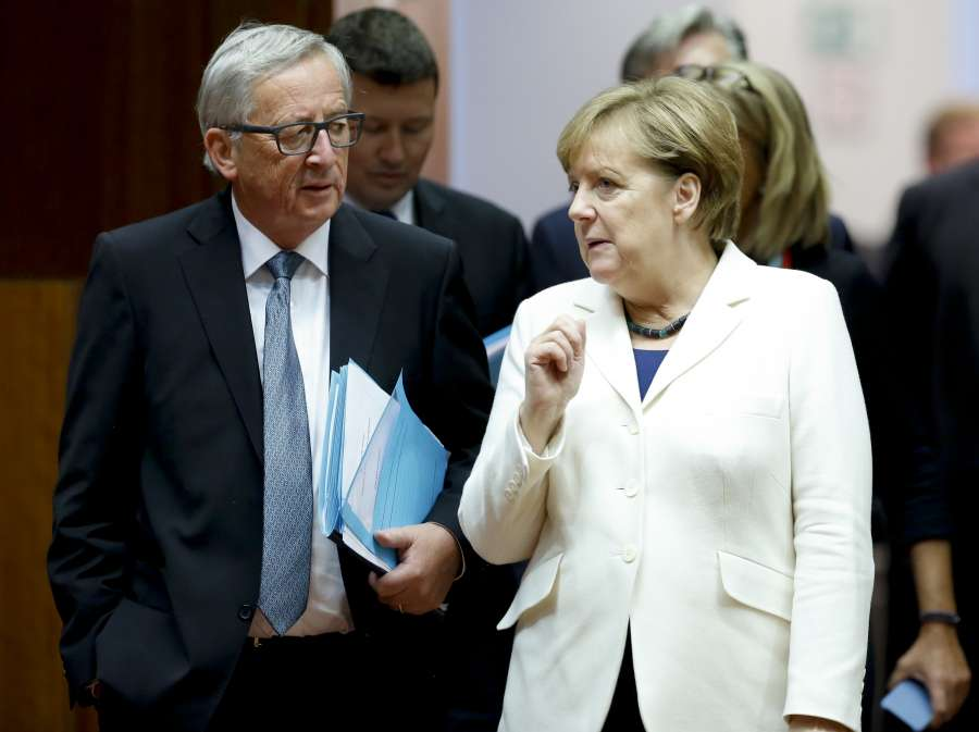 BELGIUM-BRUSSELS-EU-SUMMIT-SECOND DAY by .