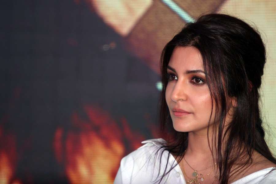 """Mumbai: Actress Anushka Sharma during a programme organised to launch """"Hawayein"""", a song from their upcoming film """"Jab Harry Met Sejal"""" in Mumbai, on July 26, 2017. (Photo: IANS) by ."""