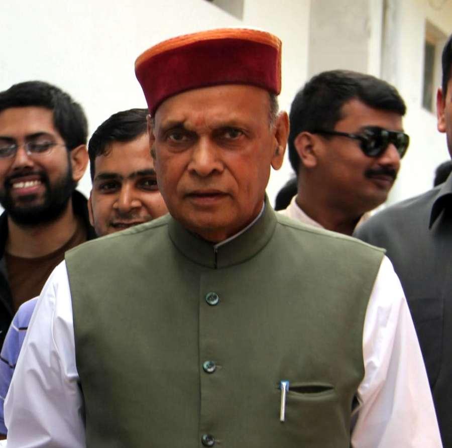 Former Himachal Pradesh Chief Minister and BJP leader Prem Kumar Dhumal. (File Photo: IANS) by .