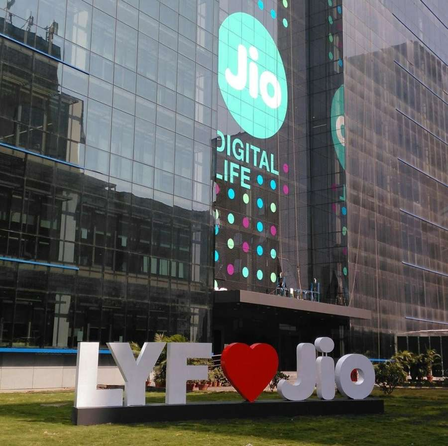 Logos of 'LYF' device and 'Jio'. (File Photo: IANS) by .