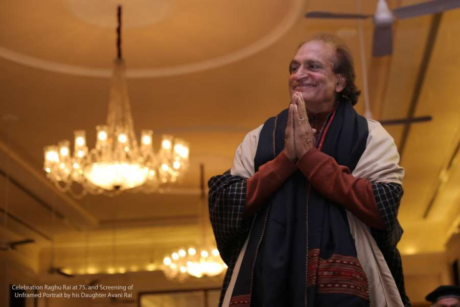 Raghu Rai, the ace photographer who turns 75 today. by .