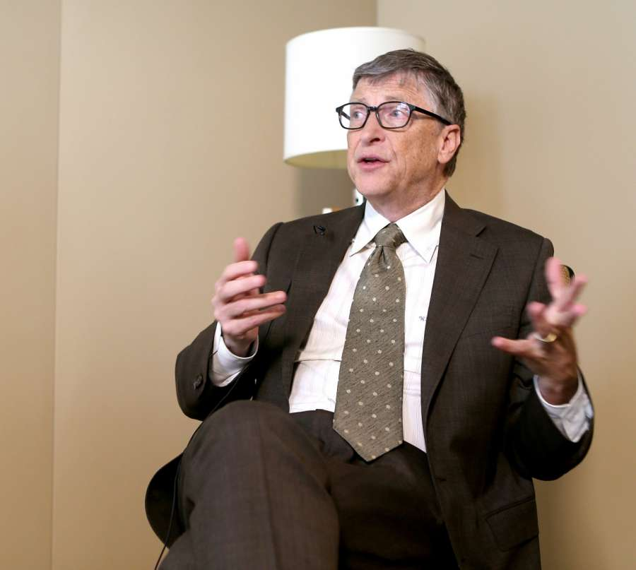 Microsoft founder Bill Gates. (File Photo: IANS) by .