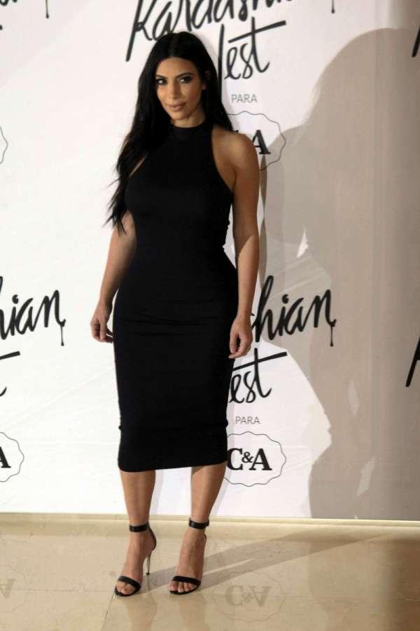 TV star Kim Kardashian. (File Photo: IANS) by .