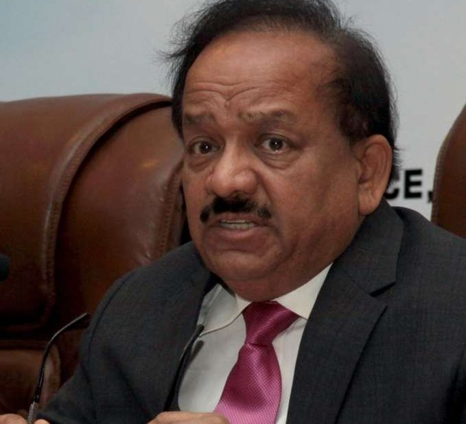 Union Minister Dr. Harsh Vardhan. (Photo: IANS) by .