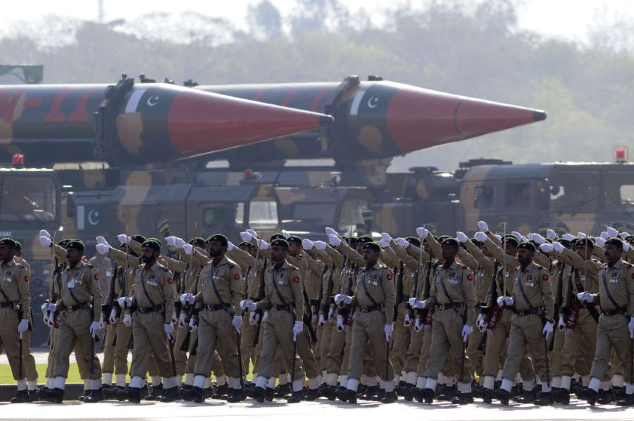 PAKISTAN-ISLAMABAD-NATIONAL DAY-MILITARY PARADE by .