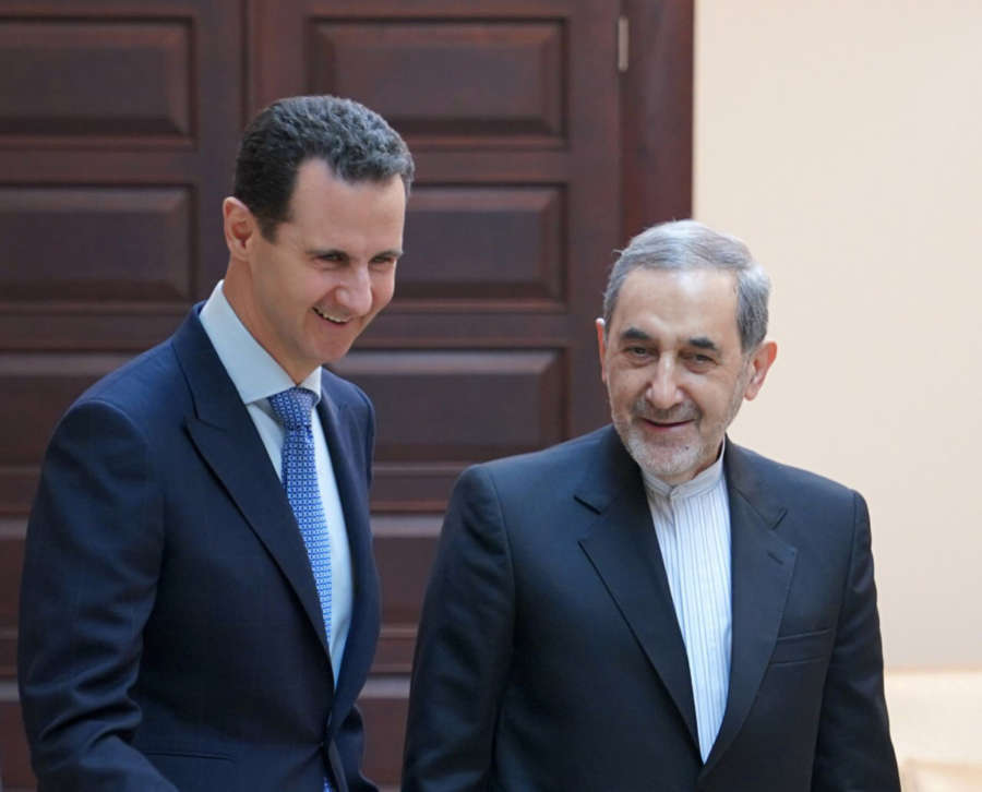 SYRIA-DAMASCUS-ASSAD-MEETING-IRANIAN OFFICIAL by .