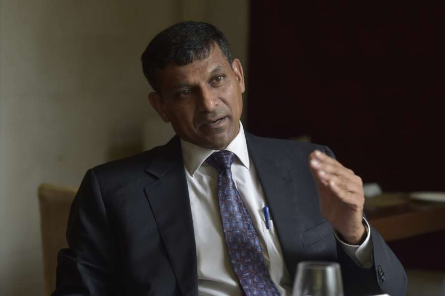 """Chennai: Former RBI Governor Raghuram Rajan during the release of his book """"I do what I do"""" in Chennai on Sept 5, 2017. (Photo: IANS) by ."""
