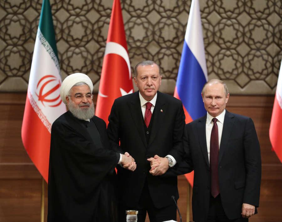 TURKEY-ANKARA-IRAN-RUSSIA-TRILATERAL SUMMIT-SYRIA by .