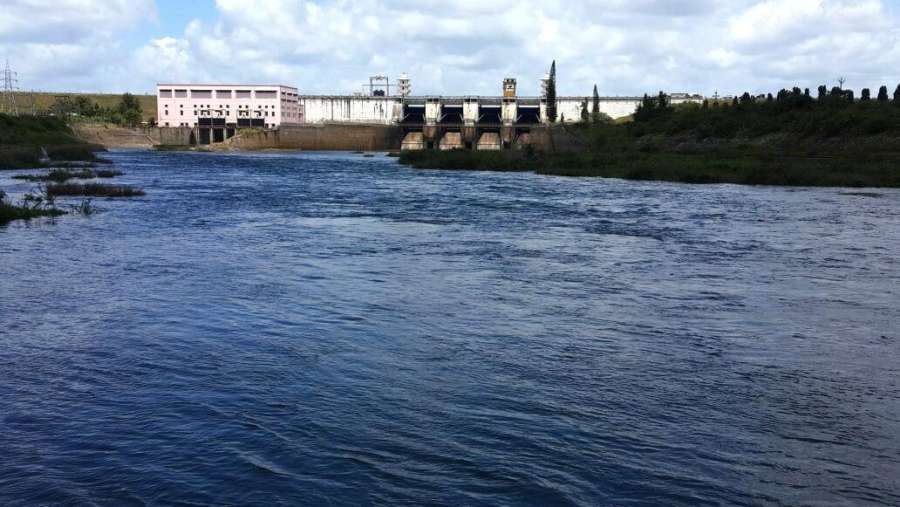 Krishna Raja Sagara Dam built on Cauvery river. (File Photo: IANS) by .
