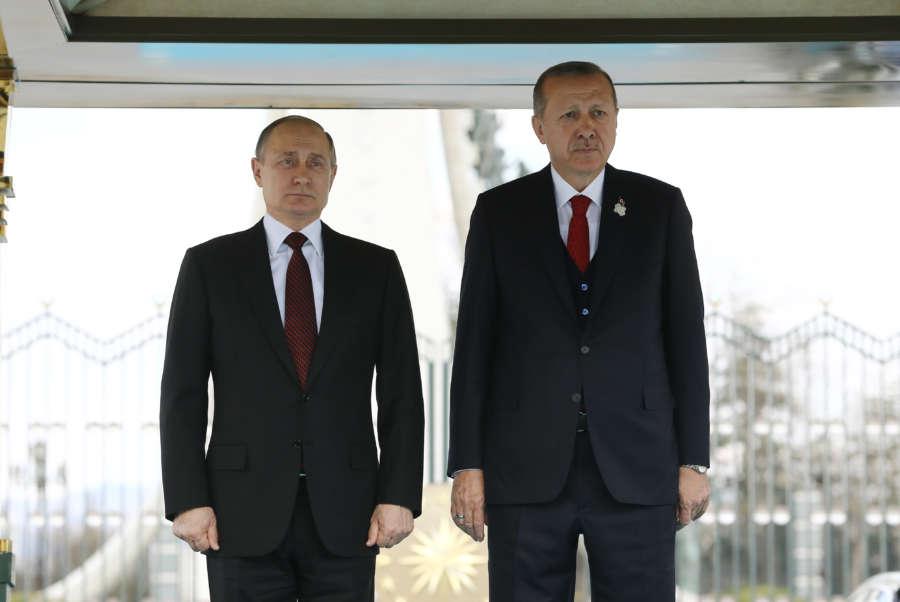 TURKEY-ANKARA-RUSSIA-PRESIDENT-VISIT by .
