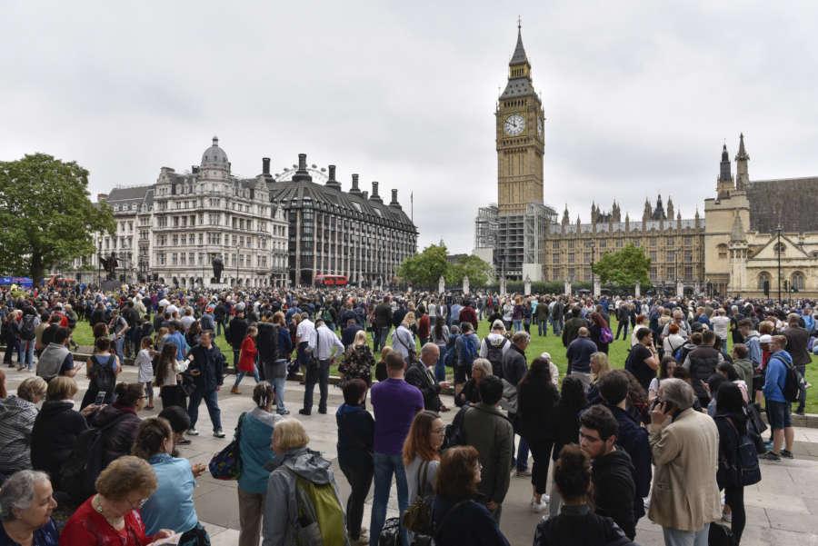 BRITAIN-LONDON-BIG BEN-FALL SILENT by .