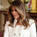US First Lady Melania Trump. (File Photo: IANS) by IANS_ARCH.
