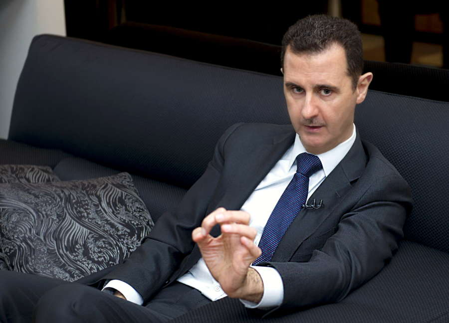 SYRIA-DAMASCUS-BASHAR AL-ASSAD-INTERVIEW by .