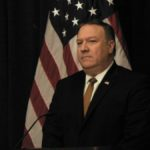 United States Secretary of State Mike Pompeo speaks at a news conference in New York after his meeting with Kim Yong Chol, the representative of North Korean leader Kim Jong Un. (Photo: IANS/AL) by .