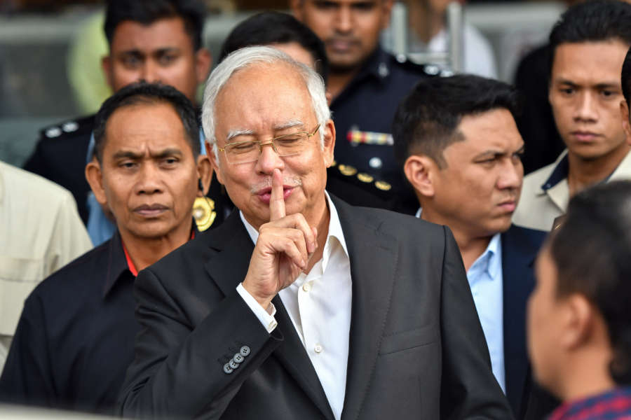 MALAYSIA-PUTRAJAYA-NAJIB-CORRUPTION by .