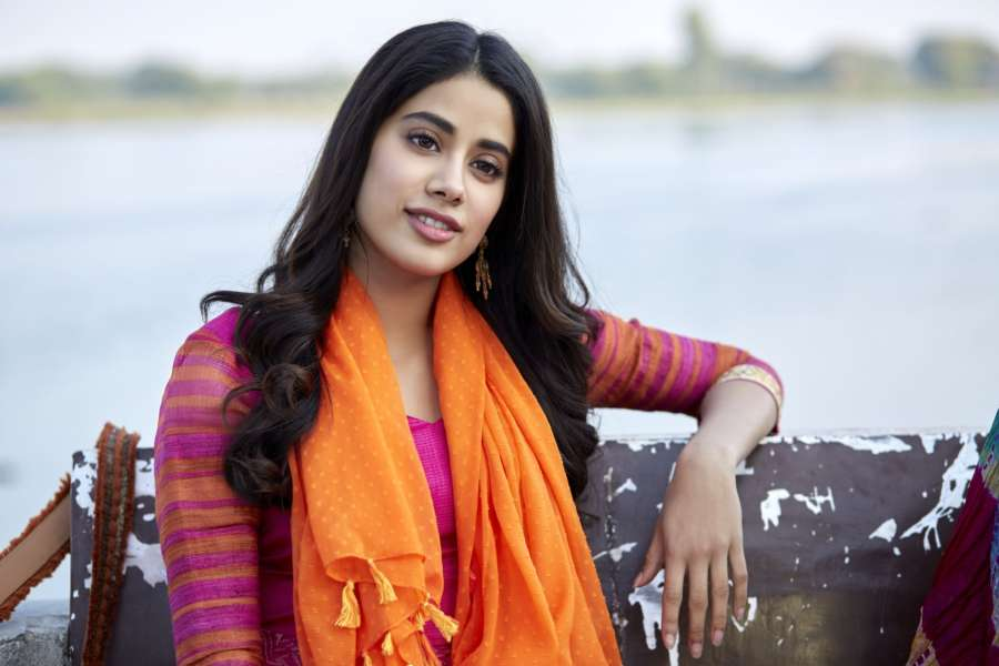 Actress Janhvi Kapoor. by .