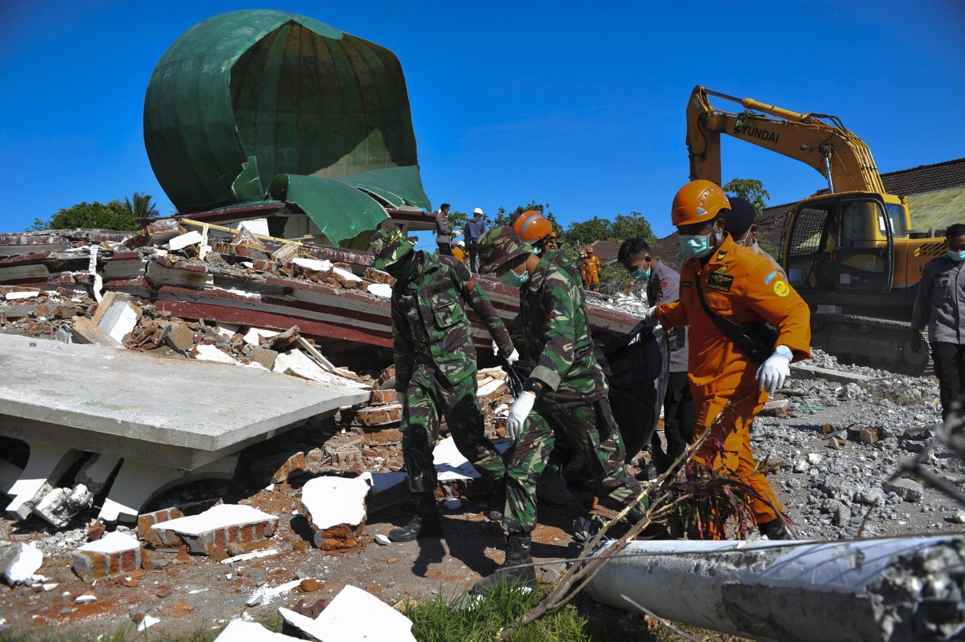 INDONESIA-LOMBOK-EARTHQUAKE-AFTERMATH by .