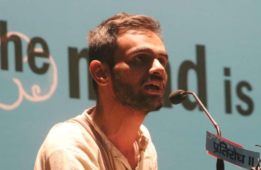 JNU student leader Umar Khalid. (File Photo: IANS) by .