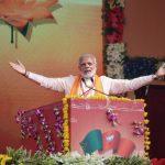 Bhopal: Prime Minister Narendra Modi addresses during 'Karyakarta Mahakumbh', in Bhopal on Sept 25, 2018. (Photo: IANS/BJP) by .