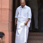 New Delhi: Congress MP A. K. Antony at Parliament, in New Delhi on Aug 9, 2018. (Photo: IANS) by .