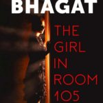 """Book cover """"The Girl in Room 105"""". by ."""