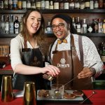 Brand Ambassadors for Dewar's India - Emily Thompson and Ernest Reid. by .