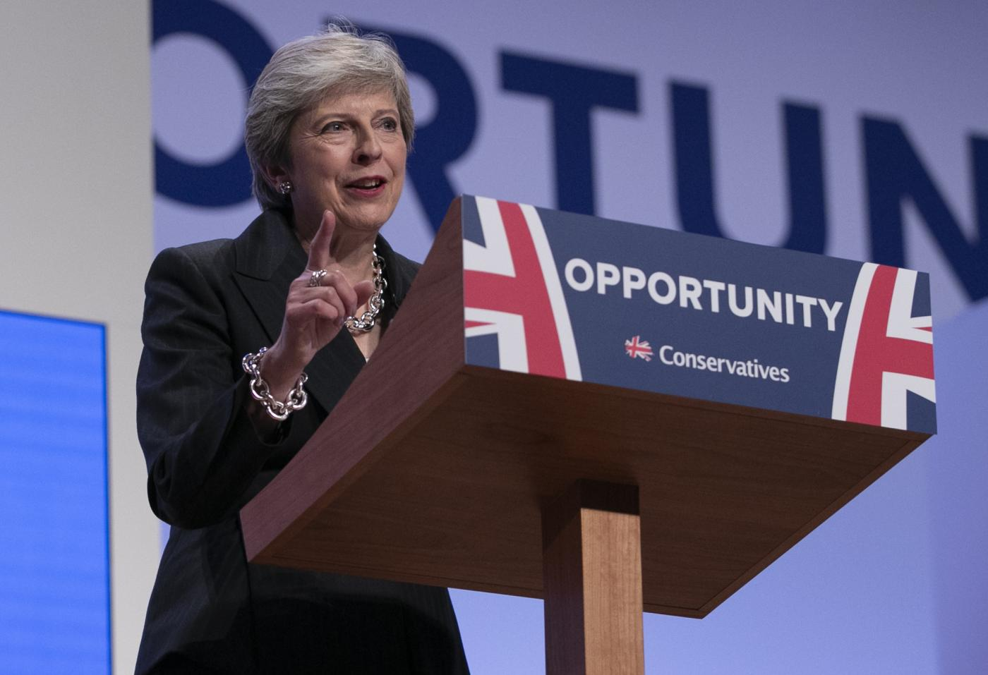 BRITAIN-BIRMINGHAM-CONSERVATIVES PARTY CONFERENCE-PRIME MINISTER by .